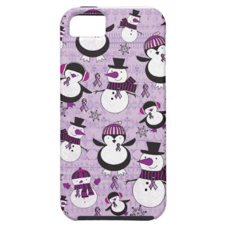 Pancreatic Cancer SNOWMAN Products iPhone 5 Cases