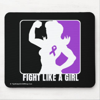 Pancreatic Cancer Strength Fight Like A Girl Mouse Pad