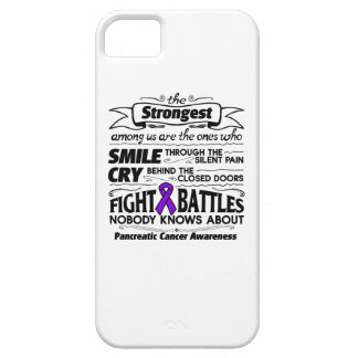 Pancreatic Cancer Strongest Among Us Barely There iPhone 5 Case