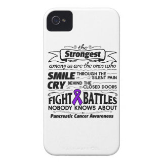 Pancreatic Cancer Strongest Among Us iPhone 4 Cover