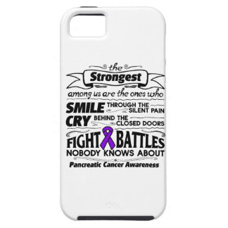 Pancreatic Cancer Strongest Among Us iPhone 5 Cover