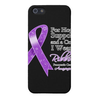 Pancreatic Cancer Support Hope Awareness Covers For iPhone 5