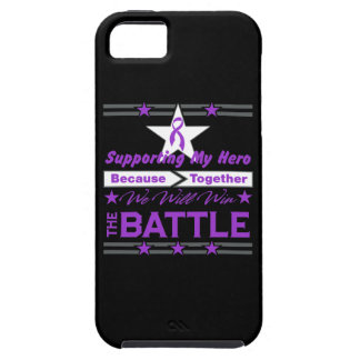 Pancreatic Cancer Supporting My Hero iPhone 5 Cases