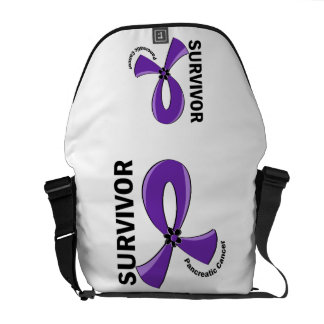 Pancreatic Cancer Survivor 12 Messenger Bags