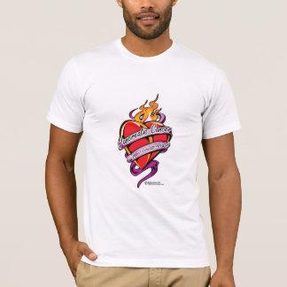 Pancreatic Cancer Tattoo Heart T-Shirt