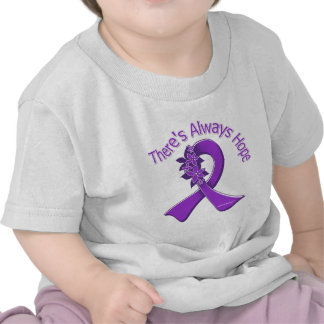 Pancreatic Cancer There's Always Hope Floral Tees