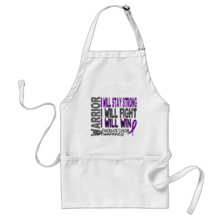 Pancreatic Cancer Warrior Adult Apron