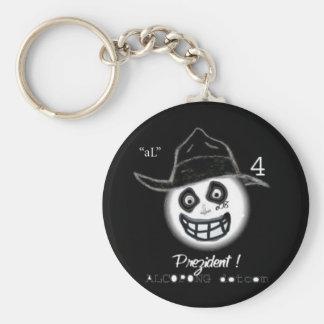 pAnD'aL'sMiLy Basic Round Button Key Ring