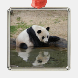 panda104 christmas ornament