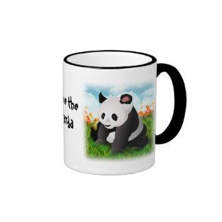 Panda2 copy, Panda2 copy, Save the Panda Ringer Mug