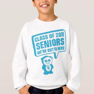 Panda 2011 Senior Blue Sweatshirt