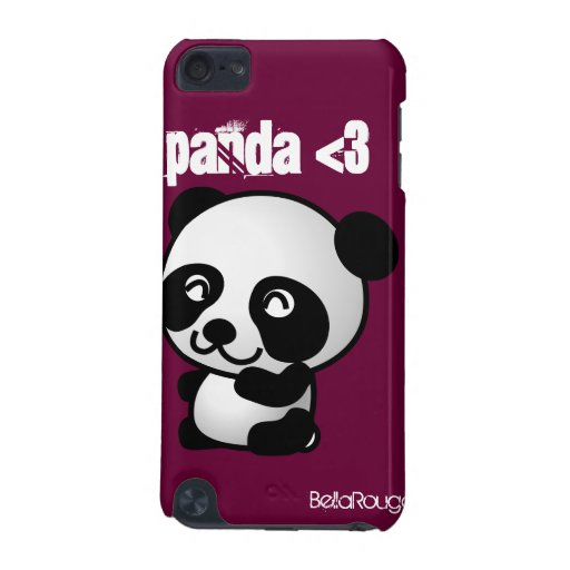 Panda <3 I-Pod touch cover iPod Touch (5th Generation) Cases