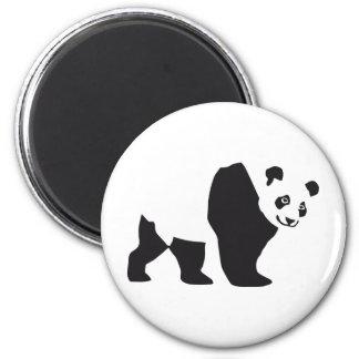 Panda 6 Cm Round Magnet