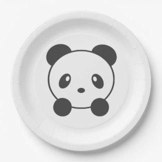 Panda 9 Inch Paper Plate