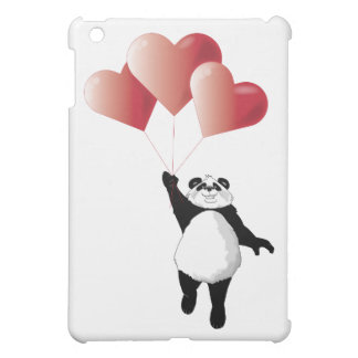 Panda and Balloons iPad Mini Cases
