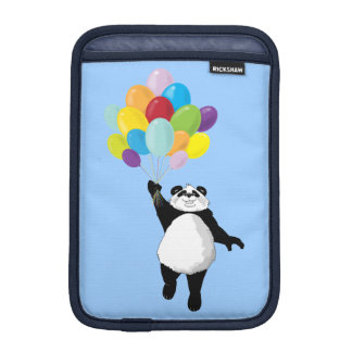 Panda and Balloons iPad Mini Sleeve