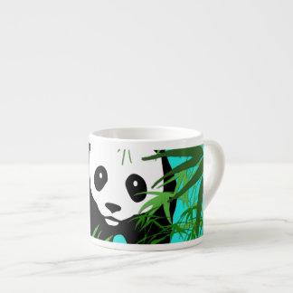 Panda and Bamboo Espresso Mug