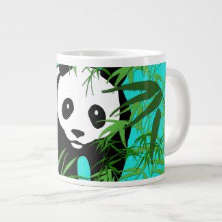 Panda and Bamboo Jumbo Mug