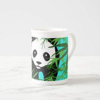 Panda and Bamboo Bone China Mug