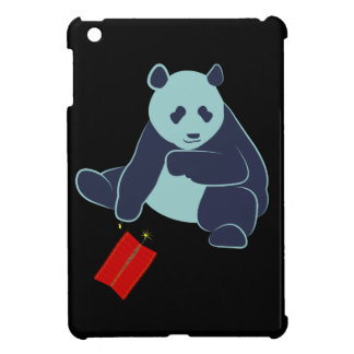 Panda and Fireworks iPad Mini Case