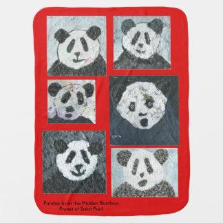 Panda Baby Blanket, Pandas, Baby Blanket, Blanket