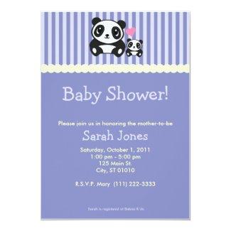 Panda Baby Shower - Purple