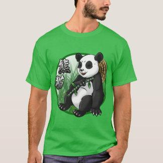 Panda & Bamboo Men's Basic Dark T-Shirt
