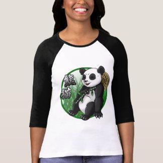 Panda & Bamboo Women's 3/4 Sleeve Raglan T-Shirt