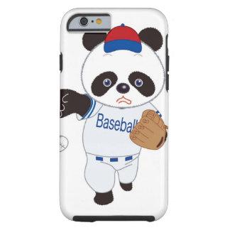Panda Baseball Player Pitching a Baseball Tough iPhone 6 Case
