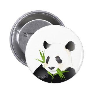 Panda Bear 6 Cm Round Badge