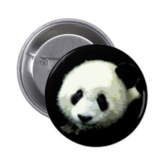 Panda Bear 6 Cm Round Badge