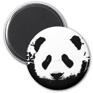 Panda Bear 6 Cm Round Magnet