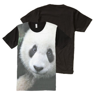 Panda Bear All-Over Print T-Shirt