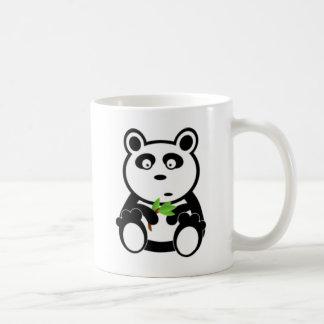 Panda Bear and Bamboo Coffee Mug