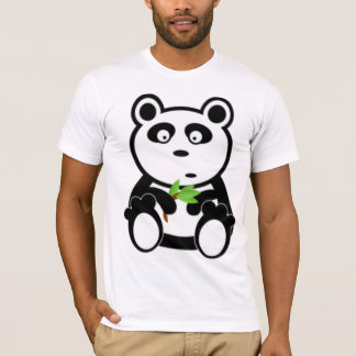 Panda Bear and Bamboo T-Shirt