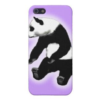 Panda bear asian bamboo zoo animal cute cuddly iPhone 5 covers