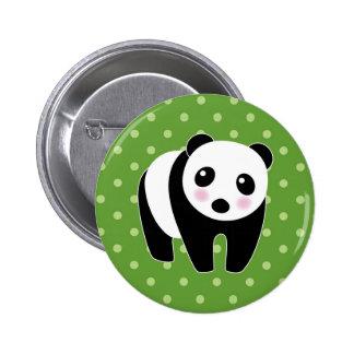 Panda Bear Button