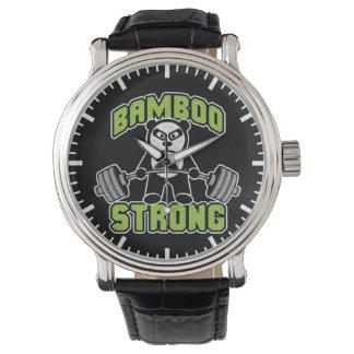 Panda Bear Cartoon - Bamboo Strong - Deadlift Watch