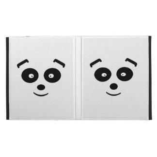 Panda Bear iPad Folio Cover