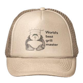 Panda Bear Chef Picture Cap