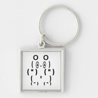 Panda Bear Computer Symbol Key Ring
