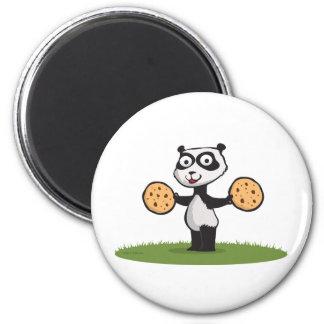 Panda Bear Cookie Magnet