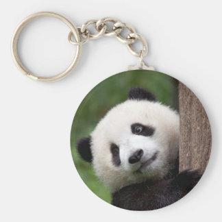 Panda Bear Cub Key Ring