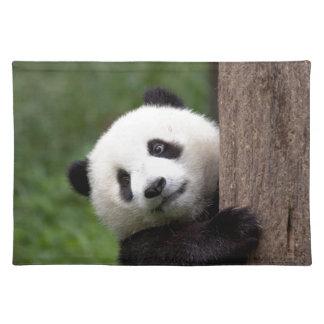 Panda Bear Cub Placemat