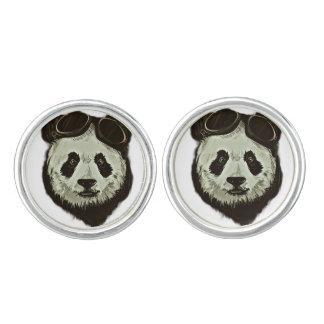 Panda Bear Cuff Links