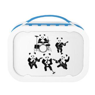 Panda Bear Cute Band Lunch Box