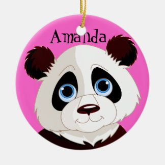 Panda Bear  Design Ornament