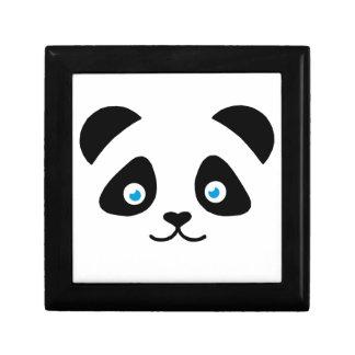 panda bear face gift box
