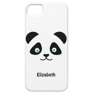 panda bear face iPhone 5 cover