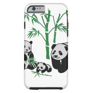 Panda Bear Family Tough iPhone 6 Case